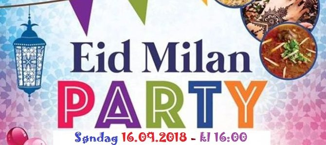 Eid Milan Party og Seminar om barnevern og foreldreveiledning